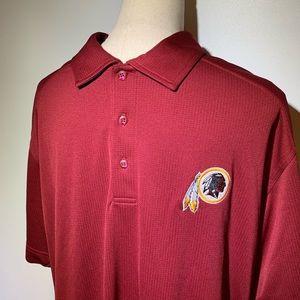 Washington Redskins Moisture Wicking Polo Shirt